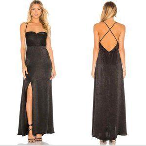 Show Me Your MuMu Winslet Hi-Slit Dress S and L